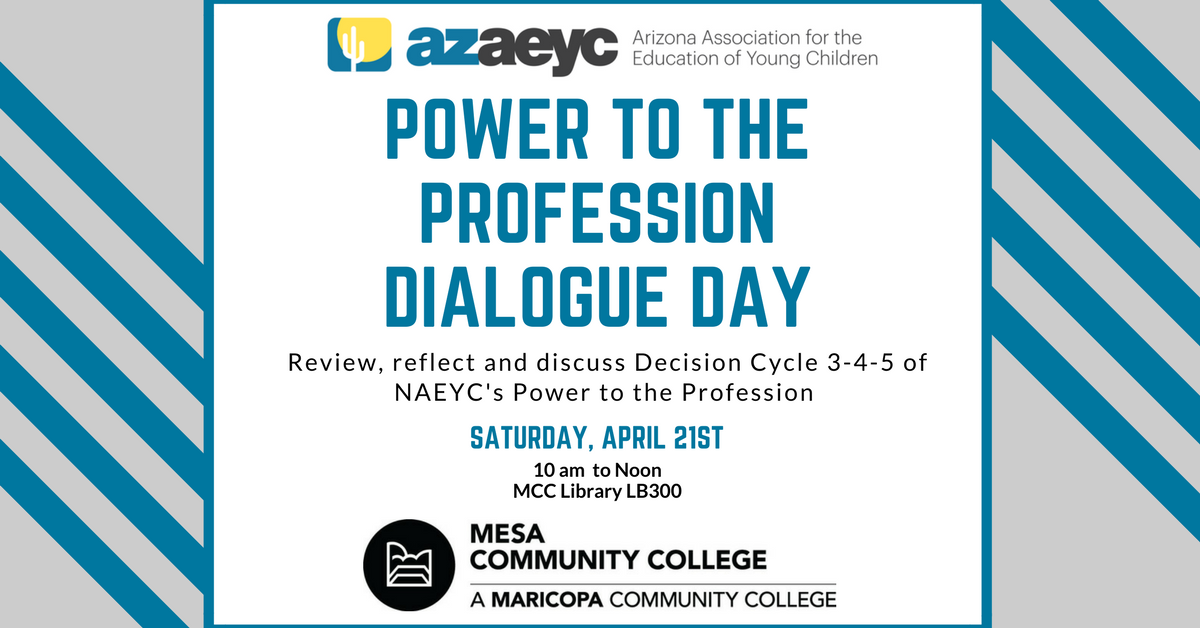 You are currently viewing Power to the Profession: Dialogue Day