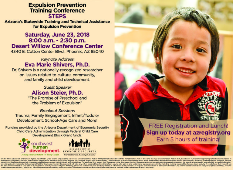 Read more about the article Preschool Expulsion Prevention Conference