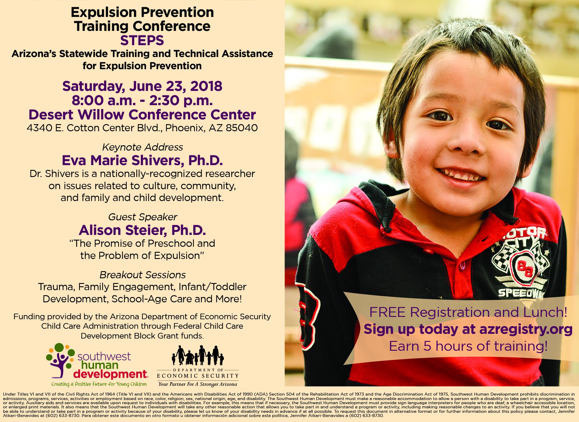 SWHD Preschool Expulsion Prevention