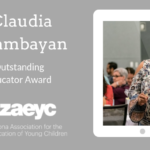 Claudia Talambayan Outstanding Educator Award