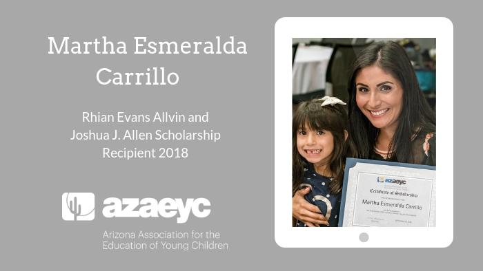 Rhian Evans Allvin and Joshua J. Allen Scholarship 2018: Martha Esmeralda Carrillo