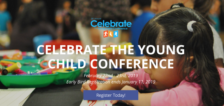 Read more about the article 28TH ANNUAL CELEBRATE THE YOUNG CHILD CONFERENCE