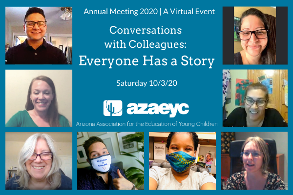 AzAEYC Board Meeting on Zoom call
