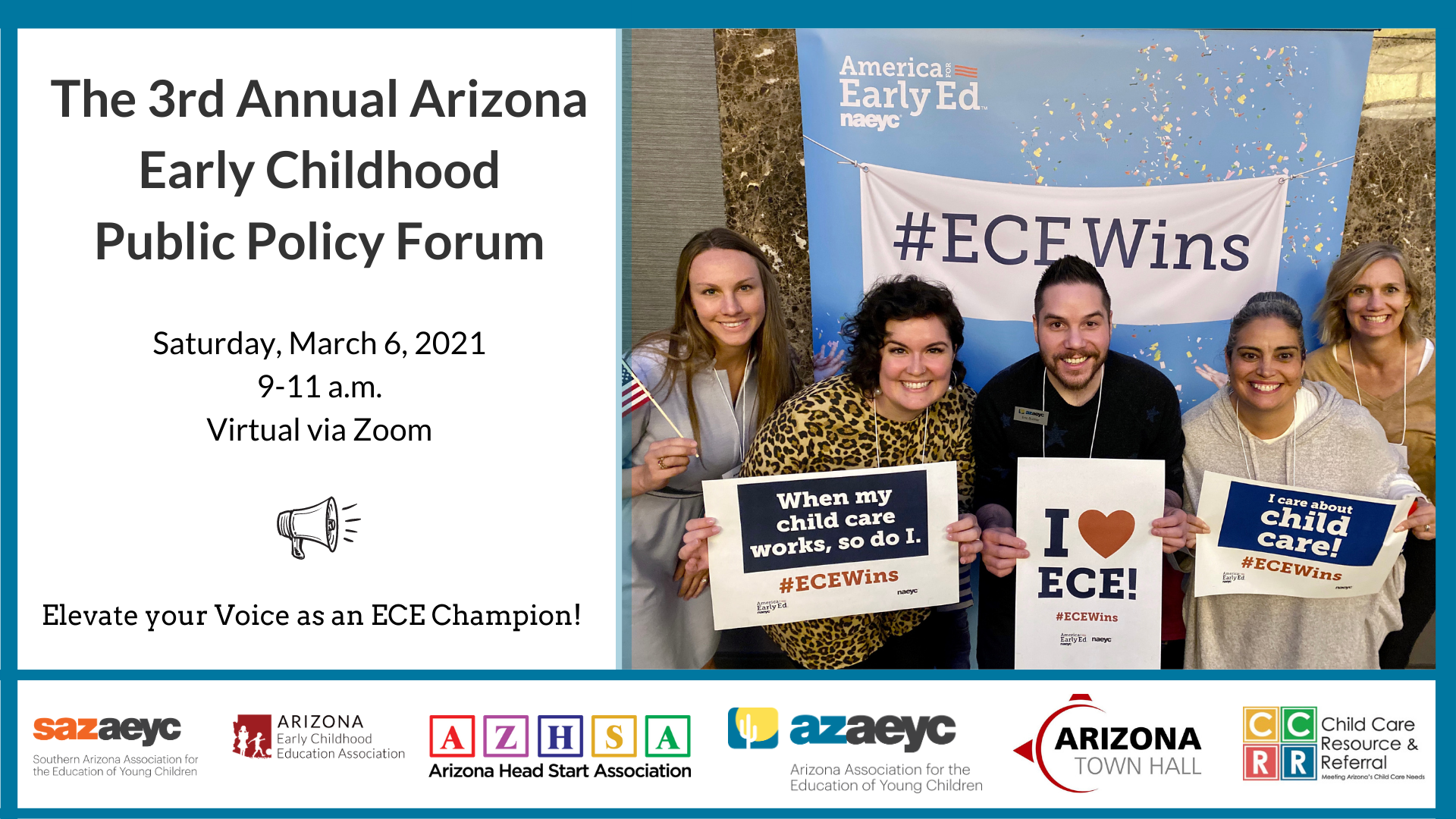 Read more about the article The 3rd Annual Arizona Early Childhood Public Policy Forum